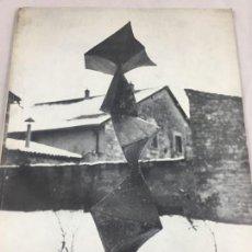 Arte: COULENTIANOS SCULPTUREA ROGER VAILLAND GALLERIE DE FRANCE 1962 EDICIÓN LIMITADA EJEMPLAR NUMERADO. Lote 137375810