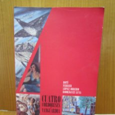 Arte: CATALOGO DE ARTE. CUATRO CORDOBESES VANGUARDIA.CORDOBA. Lote 137485214