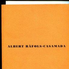 Arte - Albert Rafols-Casamada. Galeria Joan Prats 1998. - 137485778