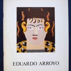 Arte: EDUARDO ARROYO - GAMARRA Y GARRIGUES, ARCO 1988 - TEXTO DE VICENTE MOLINA FOIX. Lote 138080290
