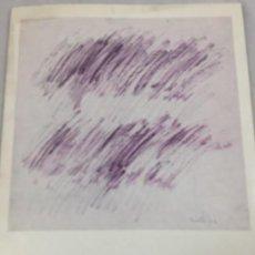 Arte: FAUTRIER SEPTIEMBRE 1963 ATENEO DE MADRID CUADERNOS DE ARTE PUBLICACIONES ESPAÑOLAS. Lote 138097030