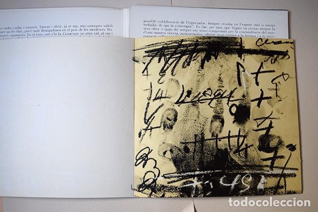 Arte: Antoni Tàpies – Sala Pelaires, Palma de Mallorca 1975 - 4 litografías - Foto 3 - 138334782