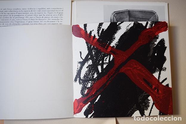 Arte: Antoni Tàpies – Sala Pelaires, Palma de Mallorca 1975 - 4 litografías - Foto 4 - 138334782