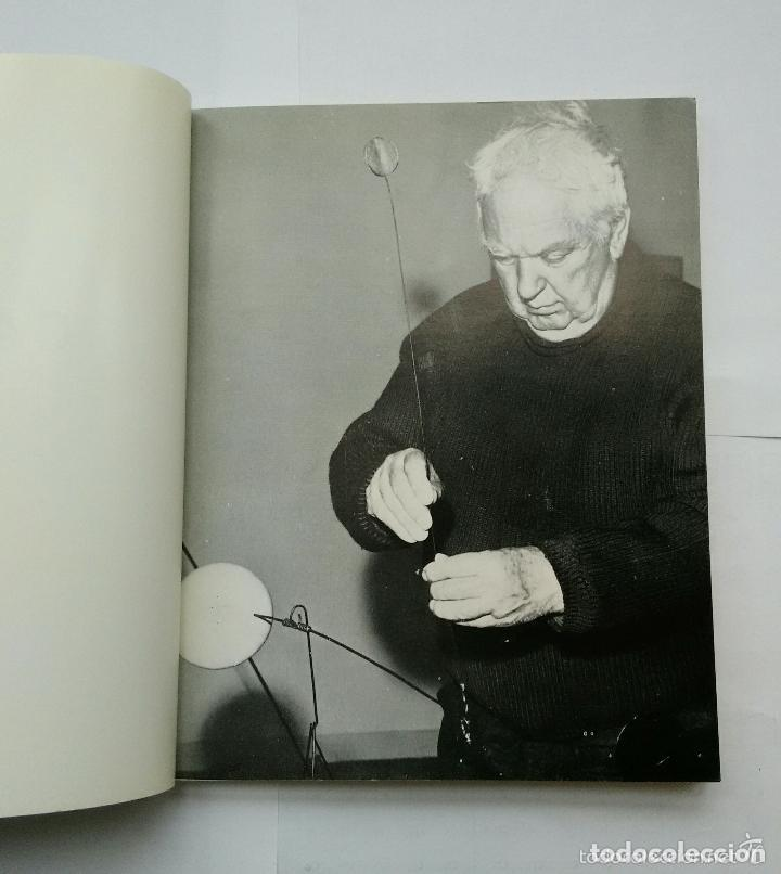 Arte: Calder, Esculturas, Sala Gaspar 1973, con Litografías Originales de Joan Miró - Foto 3 - 139749738