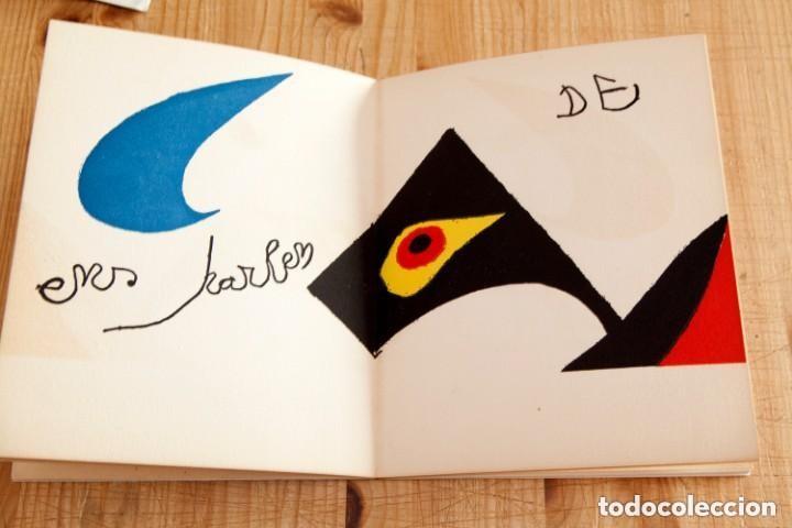 Arte: Calder, Esculturas, Sala Gaspar 1973, con Litografías Originales de Joan Miró - Foto 4 - 139749738