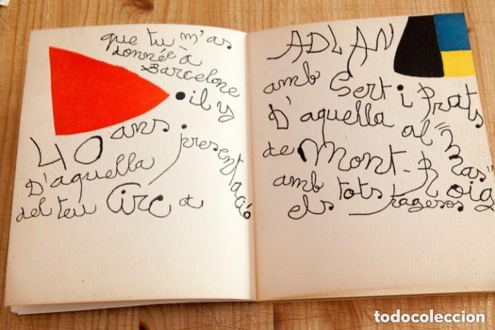 Arte: Calder, Esculturas, Sala Gaspar 1973, con Litografías Originales de Joan Miró - Foto 5 - 139749738