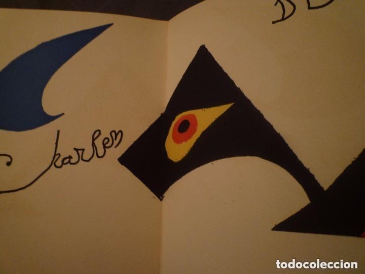 Arte: Calder, Esculturas, Sala Gaspar 1973, con Litografías Originales de Joan Miró - Foto 7 - 139749738