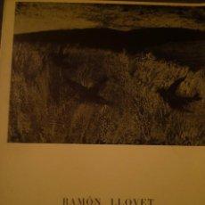 Arte: RAMÓN LLOVET. SALA GASPAR. BARCELONA. 1968. POEMA RAFAEL SANTOS TORROELLA. Lote 139761982