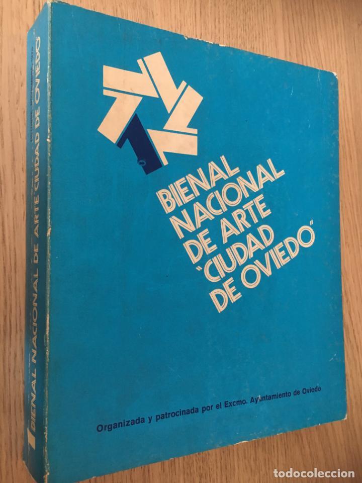 1 BIENAL NACIONAL DE ARTE CIUDAD DE OVIEDO. 1977 (Arte - Catálogos)