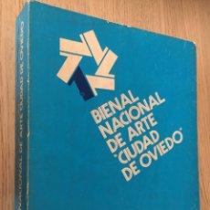 Arte: 1 BIENAL NACIONAL DE ARTE CIUDAD DE OVIEDO. 1977. Lote 139971454