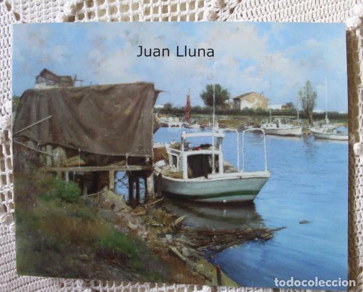 CATÁLOGO DE PINTURAS DE JUAN LUNA EN GALERÍA SEGRELLES (2008) (Arte - Catálogos)