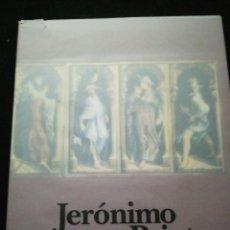 Arte: CATÁLOGO DE EXPOSICIÓN DE JERÓNIMO PRIETO. ESTA FIRMADO Y DEDICADO. SEPTIEMBRE 1992. Lote 140176378
