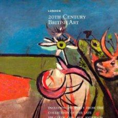 Arte: CHRISTIE'S. 20TH CENTURY BRITISH ART.. Lote 140329998
