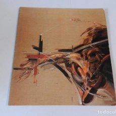 Art: CATÁLOGO . JOAN CRUSPINERA. GALERIA DAU AL SET. BARCELONA. 1978 . TEXTOS DANIEL GIRALT MIRACLE. Lote 140402730