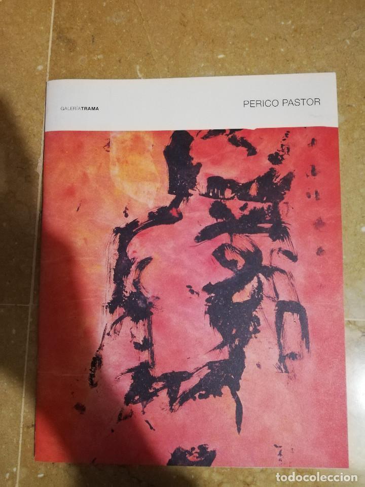 PERICO PASTOR. GALERÍA TRAMA, MADRID 20 FEBRERO - 23 MARZO 2004 (Arte - Catálogos)