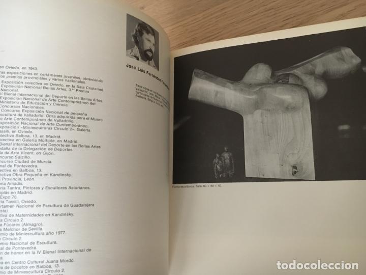 Arte: 1 Y 2 BIENAL NACIONAL DE ARTE CIUDAD DE OVIEDO. 1977 - Foto 4 - 140528242