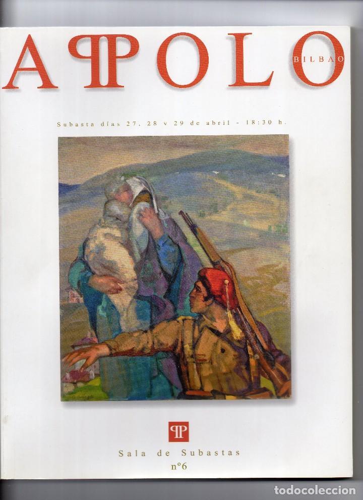 CATALOGO DE SUBASTAS APOLO Nº 6 AÑO 2005 (Arte - Catálogos)