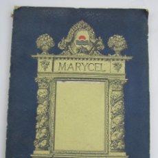 Arte: MARYCEL, SITGES. REVISTA DE ARQUITECTURA, 1918, GALERIAS LAYETANAS, BARCELONA. 22,5X30,5CM. Lote 140855678