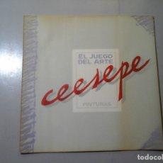 Arte - CEESEPE. PINTURAS. CASINO GRAN MADRID / GALERIA MORIARTY 1987. MOVIDA MADRILEÑA. OUKA LELE. RARO. - 141488210