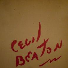 Arte: CECIL BEATON. BARBICAN ART GALLERY. WEIDENFELD & NICOLSON. 1986. Lote 141503706