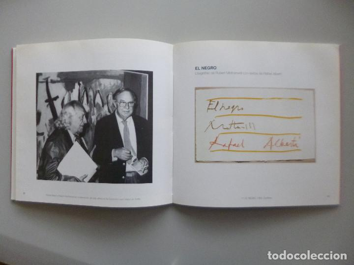 Arte: ROBERT MOTHERWELL // CATÁLOGO EXPOSICIÓN // OBRA GRÁFICA // MUSEO DE ARTE ABSTRACTO CUENCA // 1996 - Foto 3 - 141536138