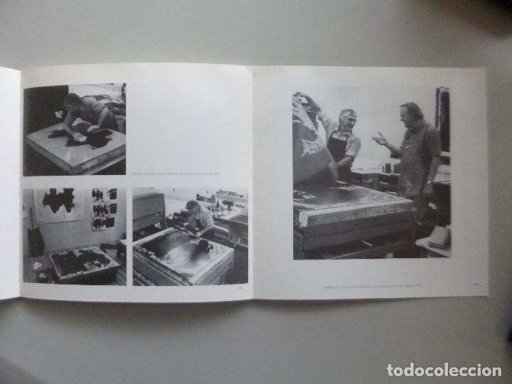 Arte: ROBERT MOTHERWELL // CATÁLOGO EXPOSICIÓN // OBRA GRÁFICA // MUSEO DE ARTE ABSTRACTO CUENCA // 1996 - Foto 4 - 141536138