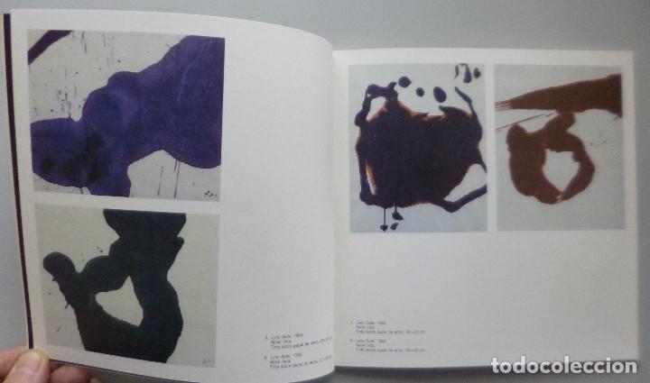 Arte: ROBERT MOTHERWELL // CATÁLOGO EXPOSICIÓN // GALERÍA JUANA MORDÓ // 1987 - Foto 4 - 141536762