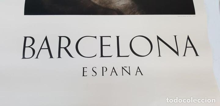 Arte: COLECCIÓN DE 5 CARTELES DEL MUSEO PICASSO. ORIGINALES. BARCELONA. 1966. - Foto 8 - 141746210