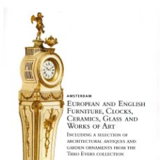 Arte: CHRISTIE'S. EUROPEAN AND ENGLISH FURNITURE, CLOCKS, CERAMICS, GLASS AND WORKS OF ART.. Lote 142114130