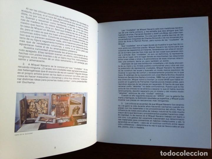 MIQUEL NAVARRO - SALA PARPALLO 1988 (Arte - Catálogos)