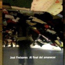 Arte: JOSÉ FREIXANES. AL FINAL DEL AMANECER. GRFANADA 2005-CASABLANCA 2006. 132 PGS. 23 X 20 CMS.. Lote 142460522
