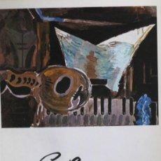 Arte: GEORGES BRAQUE. 19 PINTURAS: 1919-1962. SALA GASPAR. BARCELONA. 1975. Lote 142615750