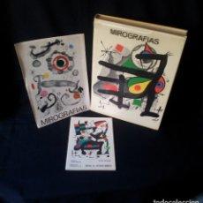Arte: JOAN MIRO - MIROGRAFIAS - DIBUJOS,GRABADOS,LITOGRAFÍAS,GRABADOS SOBRE MADERA Y COBRE,LIBROS,CARTELES. Lote 138017194