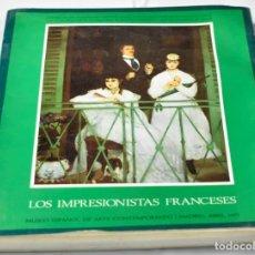 Arte: LOS IMPRESIONISTAS FRANCESES, MUSEO ESPAÑOL DE ARTE CONTEMPORÁNEO. Lote 142970622
