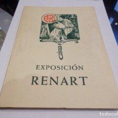 Arte: EXPOSICIÓN RENART CATÁLOGO PALACIO DE LA VIRREINA DICIEMBRE 1965 ENERO 1966 (G). Lote 143281450