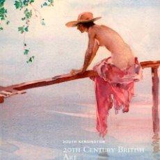 Arte: CHRISTIE'S. 20TH CENTURY BRITISH ART.. Lote 143540350