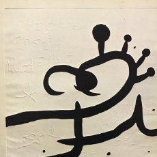 Arte: JOAN MIRÓ- 5 GRAVATS MÉS 1 PORTADA. Lote 143581250