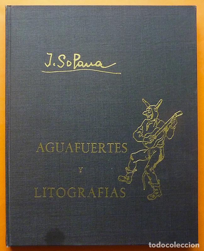 JOSÉ GUTIÉRREZ SOLANA: AGUAFUERTES Y LITOGRAFÍAS. OBRA COMPLETA - EJEMPLAR NUMERADO - 1963 (Arte - Catálogos)