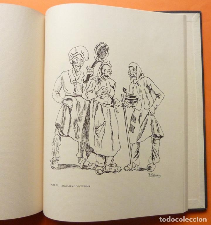 Arte: JOSÉ GUTIÉRREZ SOLANA: AGUAFUERTES Y LITOGRAFÍAS. OBRA COMPLETA - EJEMPLAR NUMERADO - 1963 - Foto 4 - 143623050
