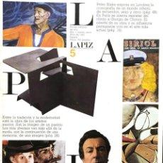 Arte: REVISTA LÁPIZ 5. Lote 143691158