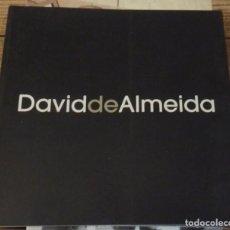 Arte: MADRID, MARBELLA,2002, CATALOGO EXPOSICION DAVID DE ALMEIDA, 46 PAGINAS. Lote 143735098