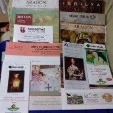 Arte: 7 CATALOGOS DE ARTE DE IMPORTANTES SUBASTAS + 4 DE REGALO.. Lote 143767244