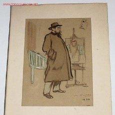 Arte: EXPOSICION RAMON CASAS COMMEMORATIVA DEL XXV ANIVERSARIO DE LA MUERTE DEL ARTISTA - CATALOGO 1958. Lote 143917674