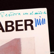 Arte: WILL FABER - CATÁLOGO CON DEDICATORIA AUTÓGRAFA. Lote 144111522
