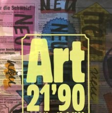 Arte: ART 21'90 BASEL. Lote 144452278