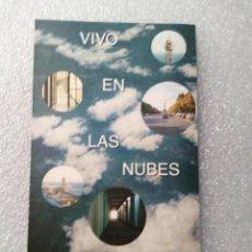 Arte: FOLLETO EXPOSICION VIVO EN LAS NUBES IGNACIO VIDAL-FOLCH GALERIA CARLES TACHE 1998-99 14X21 CM. Lote 144499482