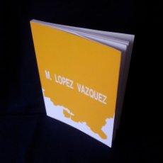 Arte: MANUEL LOPEZ VAZQUEZ - EXPOSICION, PINTURAS Y DIBUJOS - GRANADA 1991 - FIRMADO POR EL AUTOR. Lote 144500902