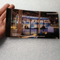 Arte: FOLLETO TRIPTICO EXPOSICION BARCELONA BERLIN CHEMA ALVARGONZALEZ 20 X 11 CM. Lote 144501702