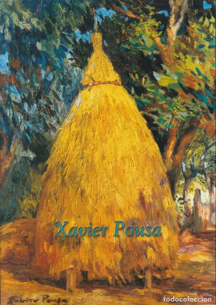 XAVIER POUSA. CATALOGO DE PINTURA (CASTELLANO / GALLEGO) (Arte - Catálogos)