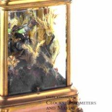 Arte: CHRISTIE'S. CLOCKS, BAROMETERS AND MARINE CHRONOMETERS.. Lote 144923686